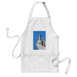 Monument you the Portuguese Discoveries at Lisbon Adult Apron
