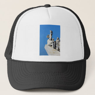 Monument you the Portuguese Discoveries at Lisbon Trucker Hat
