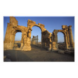 Monumental Arch, Palmyra, Homs, Syria Photographic Print