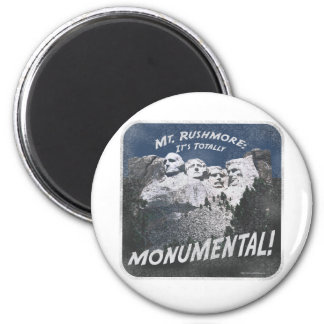 Monumental Mt. Rushmore Magnet