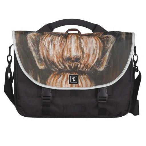 Monumental Old Age (surreal realism portrait) Laptop Messenger Bag