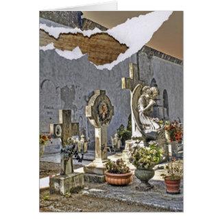 Monumental Tombstones Card