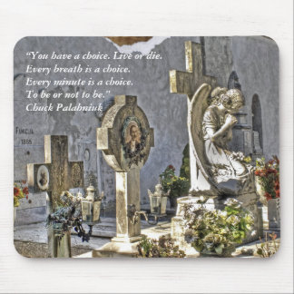 Monumental Tombstones Mouse Pad