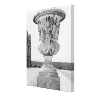 Monumental vase, allegory of defeat of Turks Canvas Print