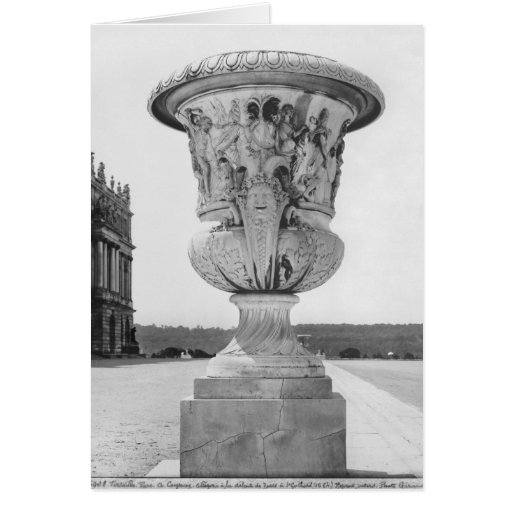 Monumental vase, allegory of defeat of Turks Cards