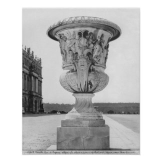Monumental vase, allegory of defeat of Turks Poster