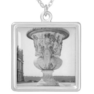 Monumental vase, allegory of defeat of Turks Silver Plated Necklace