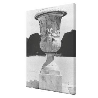 Monumental vase canvas print