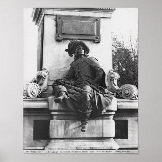 Monumento a Alejandro Dumas Pere, d'Artagnan Posters