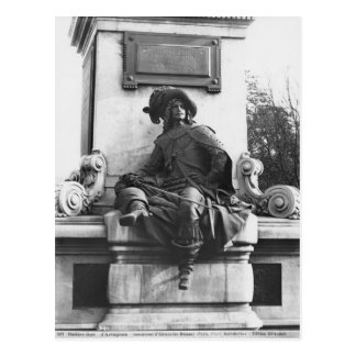 Monumento a Alejandro Dumas Pere, d'Artagnan Tarjeta Postal