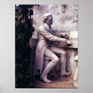 Monumento a Federico Chopin Póster