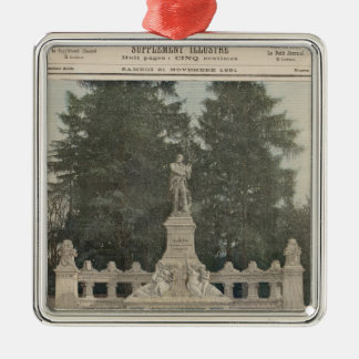 Monumento a Gambetta en Ville-d'Avray Ornato