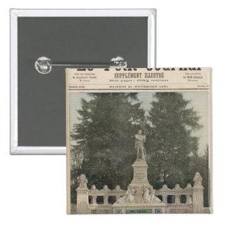 Monumento a Gambetta en Ville-d'Avray Pin Cuadrado