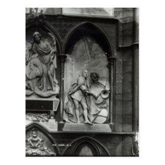 Monumento a Handel, 1762 Postales