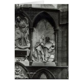 Monumento a Handel, 1762 Tarjeta De Felicitación