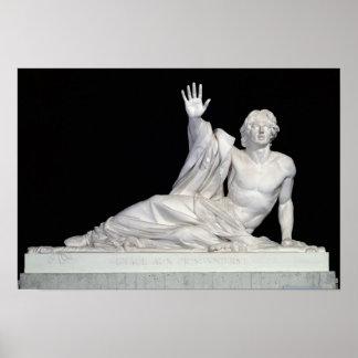 Monumento a la memoria de Charles-Artus Póster