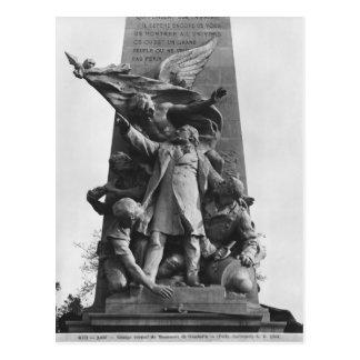 Monumento a León Gambetta Postales
