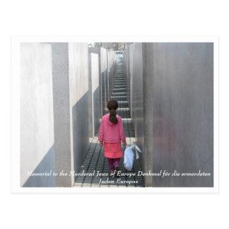 Monumento a los judíos asesinados de Europa Postales