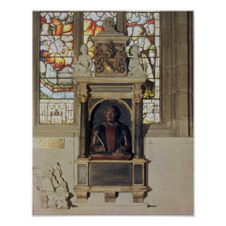 Monumento a William Shakespeare c 1616-23 Posters