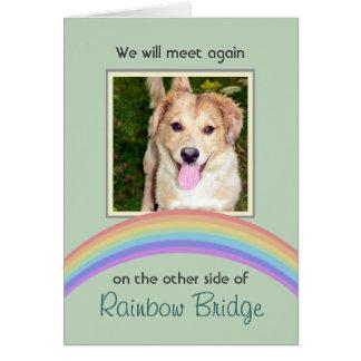 Monumento adaptable del mascota del puente del tarjeta de felicitación
