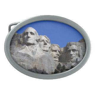 Monumento conmemorativo nacional del monte Rushmor Hebillas Cinturon