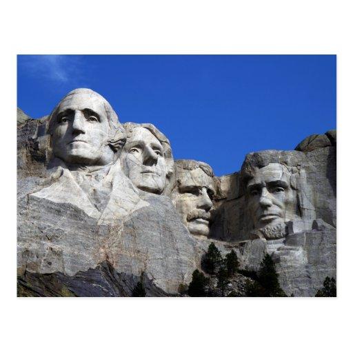 Monumento conmemorativo nacional del monte Rushmor Postal