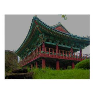 Monumento coreano postales