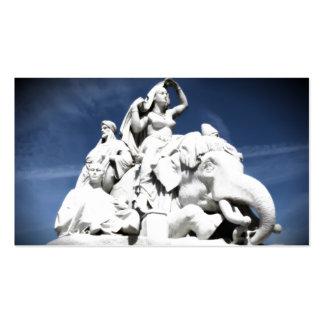 Monumento de Albert Tarjetas De Visita