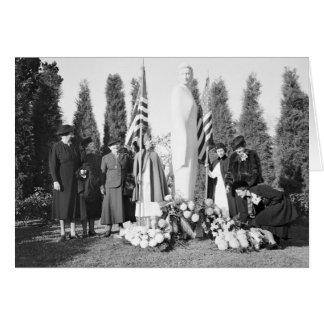 Monumento de Arlington a las enfermeras 1938 Felicitaciones