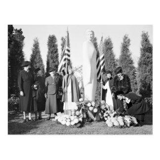 Monumento de Arlington a las enfermeras 1938 Tarjeta Postal
