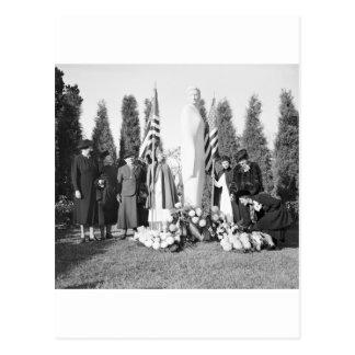 Monumento de Arlington a las enfermeras: 1938 Tarjetas Postales