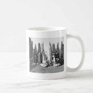 Monumento de Arlington a las enfermeras 1938 Taza De Café