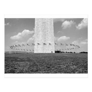 Monumento de B&W Washington Postales