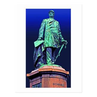 Monumento de Bismarck, Berlín, parte posterior del Postales