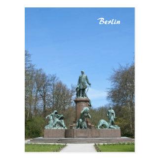 Monumento de Bismarck en Berlín Tarjeta Postal