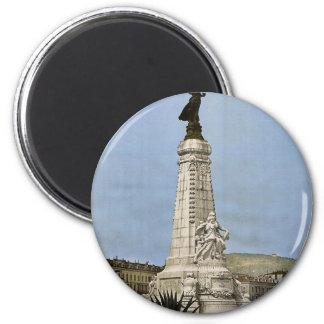 Monumento de Centenaire, Niza, vintage Photoch de  Imán Para Frigorifico