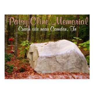 Monumento de Cline del patsy - Camden, TN Postal