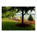 Monumento de Dan Fogelberg en tarjeta de verano