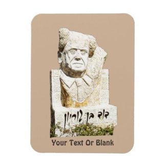 Monumento de David Ben-Gurion Imán Flexible