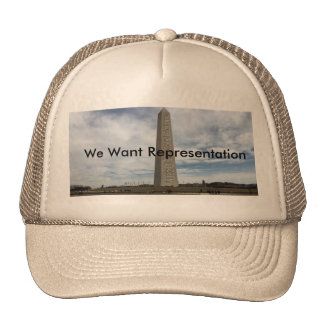 """Monumento de DC """" Gorras"""