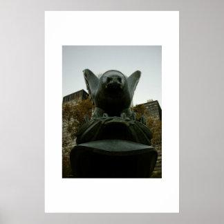 Monumento de Eagle Impresiones