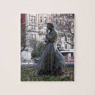 Monumento de Eleanor Roosevelt Rompecabezas Con Fotos