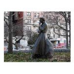Monumento de Eleanor Roosevelt Tarjeta Postal