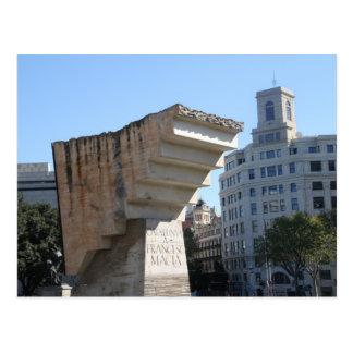 Monumento de Francesc Macià, Barcelona Postal