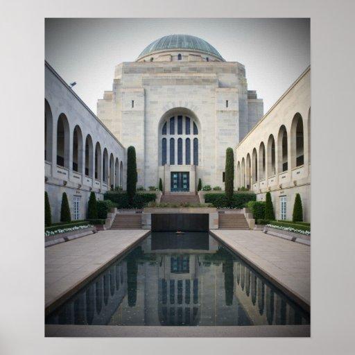 Monumento de guerra australiano, Canberra Poster