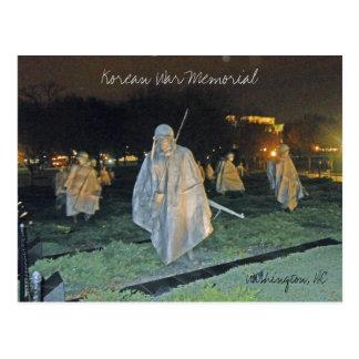 Monumento de Guerra de Corea en el Washington DC Postal
