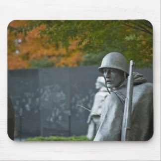 Monumento de Guerra de Corea Tapete De Raton