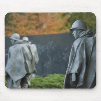 Monumento de Guerra de Corea Tapete De Ratón