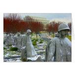 monumento de Guerra de Corea Tarjetón