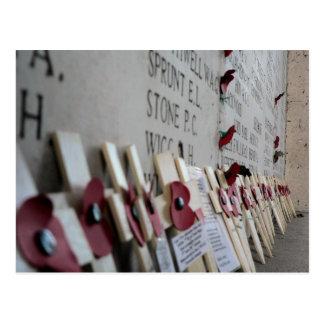 Monumento de guerra de la puerta de Menin Ypres Tarjeta Postal